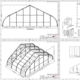 Engineering for tensioned fabric structures